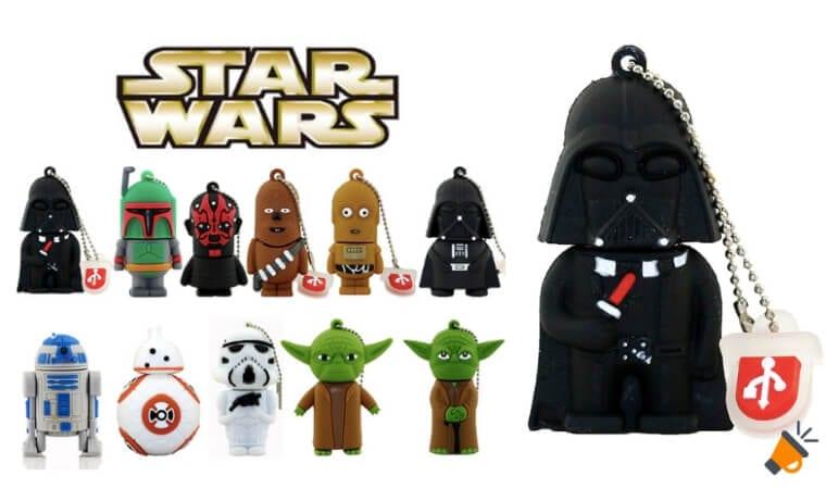 oferta Pendrive personajes Star Wars baratos SuperChollos
