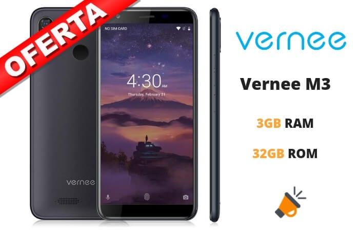 oferta Vernee M3 barato SuperChollos