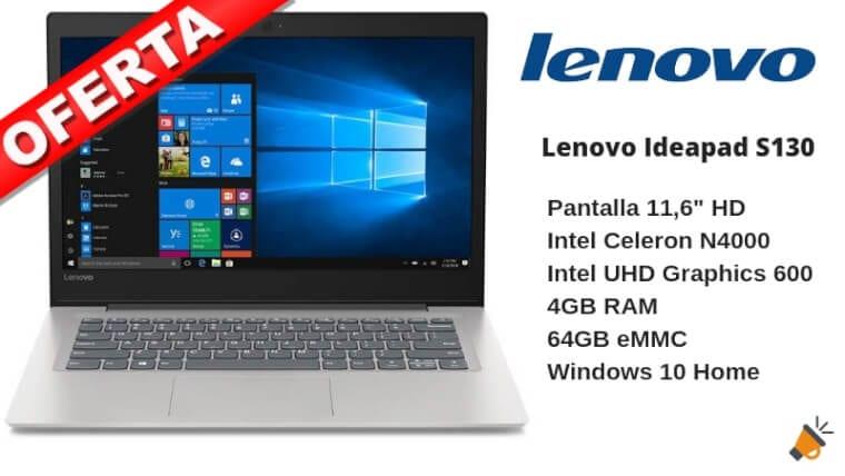 oferta Lenovo Ideapad S130 barato SuperChollos