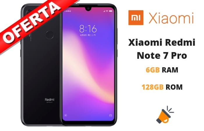 oferta Xiaomi Redmi Note 7 Pro barato SuperChollos
