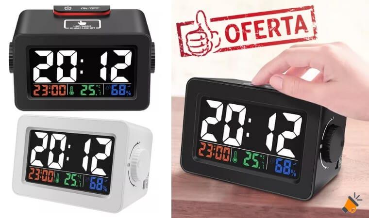 oferta despertador Digoo DG C1R barato SuperChollos