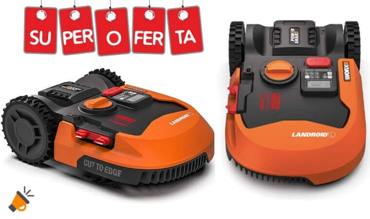 OFERTA Robot Cortace%CC%81sped Landroid L 1500 BARATO SuperChollos