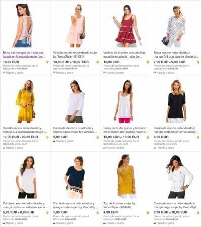 moda mujer ebay SuperChollos