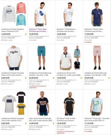 moda hombre ebay SuperChollos