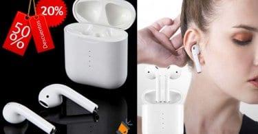 oferta TWS i10 Auriculares Bluetooth baratos SuperChollos