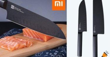 oferta Set de cuchillos Xiaomi Mijia Huohou barato SuperChollos