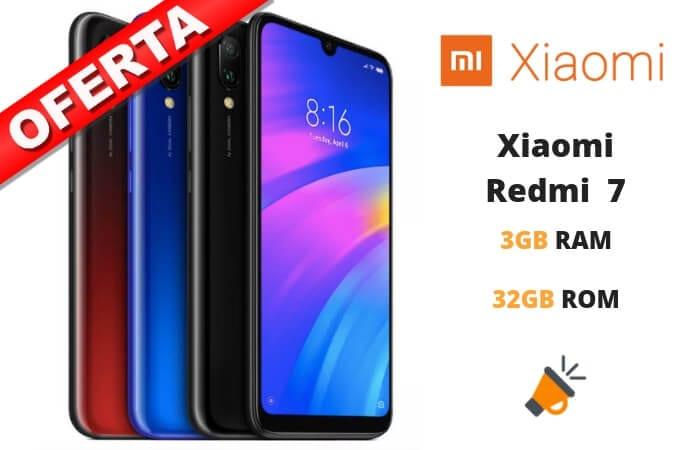 OFERTA Xiaomi Redmi 7 BARATO SuperChollos
