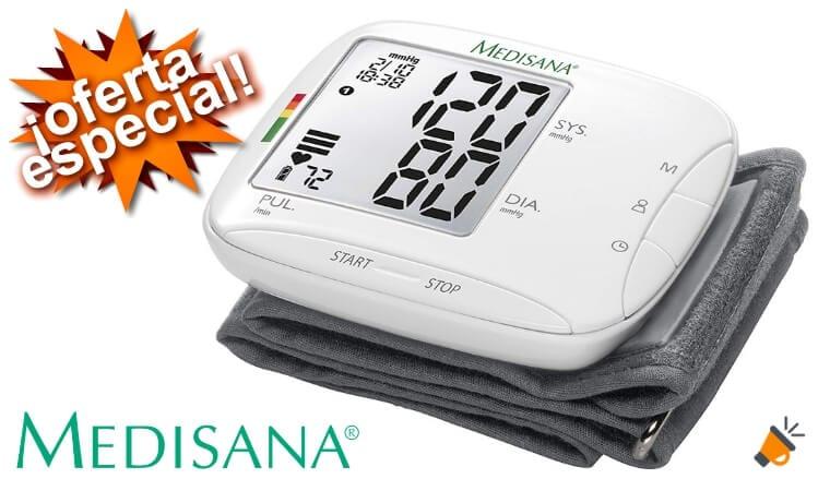 oferta Medisana BW 333 51075 Monitor de Presio%CC%81n Arterial barato SuperChollos