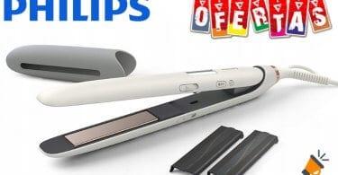 oferta Philips Nutri Wonder Plancha de pelo barata SuperChollos