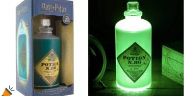 OFERTA La%CC%81mpara Harry Potter Potion Bottle 3D BARATA SuperChollos