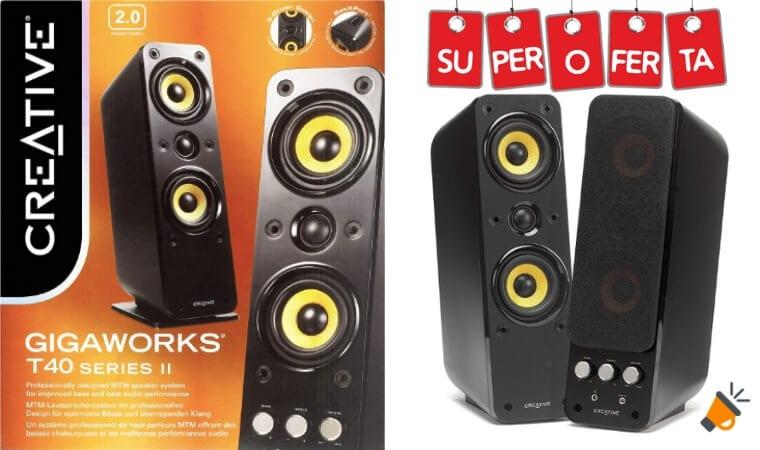 OFERTA Creative Labs GigaWorks T40 altavoces baratos SuperChollos