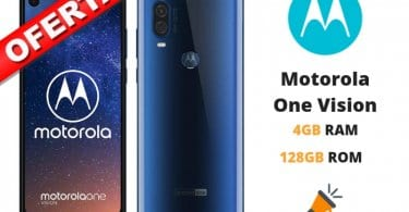 oferta Motorola One Vision barato SuperChollos