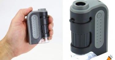 oferta Microscopio Carson MicroBrite Plus MM 300 barato SuperChollos