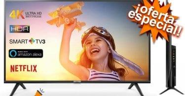 oferta TCL 43DP602 Smart TV barata SuperChollos