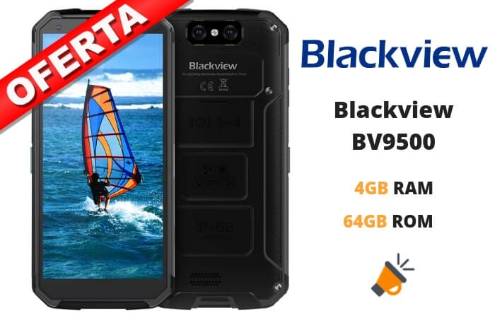 oferta Blackview BV9500 barato SuperChollos