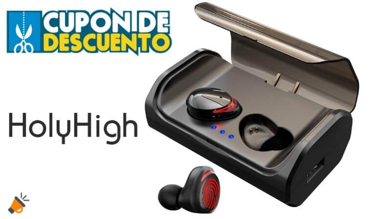 oferta Holyhigh T8 auriculares baratos SuperChollos