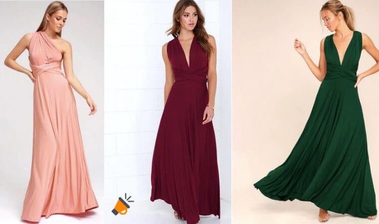oferta vestidos largos con escote baratos SuperChollos