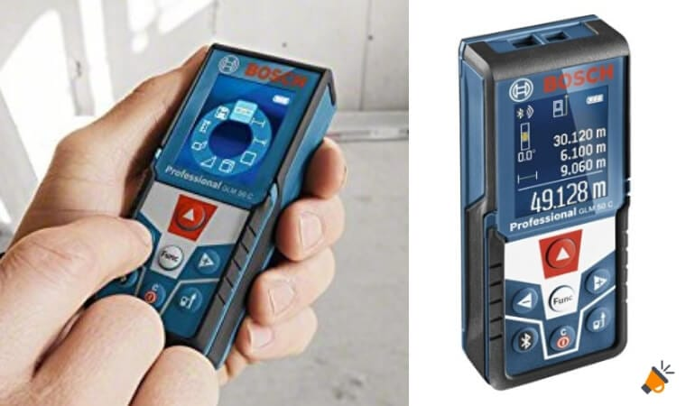 oferta Bosch Professional GLM 50 C Medidor la%CC%81ser barato SuperChollos