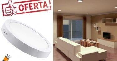 oferta Plafo%CC%81n LED Atomant barato SuperChollos