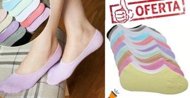 oferta Pack de 3 pares de calcetines invisibles baratos SuperChollos