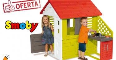 oferta Casa infantil Smoby Nature II barata SuperChollos