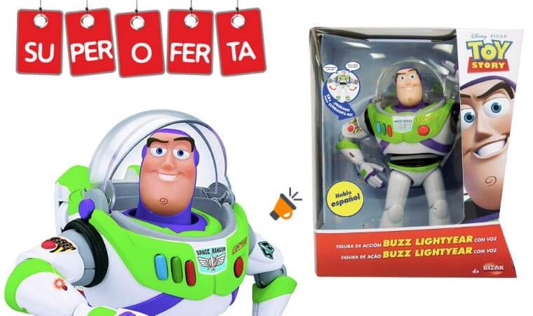 oferta Buzz Lightyear Toy Story barato SuperChollos