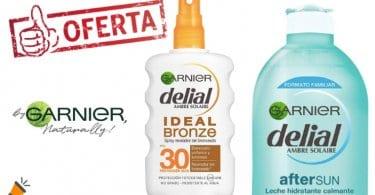 oferta Garnier Delial kit de bronceado barato SuperChollos