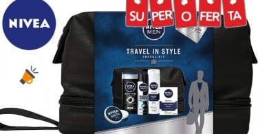 oferta Set de regalo Travel Kit Nivea Men barato SuperChollos