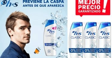 oferta Head Shoulders Classic Anticaspa Champu%CC%81 barato SuperChollos