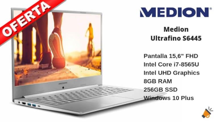 oferta Medion Ultrafino S6445 barato SuperChollos