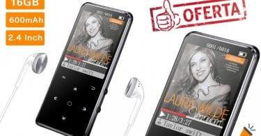 oferta Reproductor MP3 Bluetooth mibao barato SuperChollos