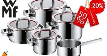 oferta WMF Function 4 Bateri%CC%81a de Cocina barata SuperChollos