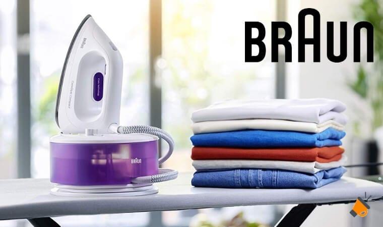 oferta Centro de planchado Braun Carestyle Compact IS2044VI barato SuperChollos