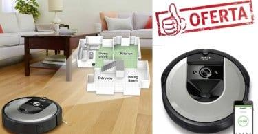 oferta iRobot Roomba i7156 Robot Aspirador barato SuperChollos