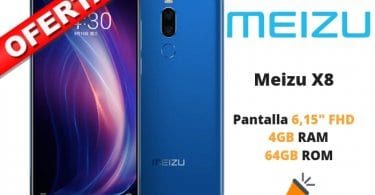 OFERTA Meizu X8 BARATO SuperChollos