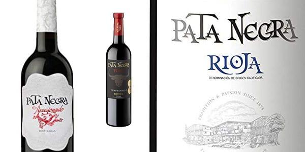 lote 6 botellas vino pata negra denominaciones origen 75 cl chollo barato amazon SuperChollos