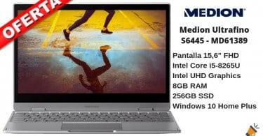 oferta Medion Ultrafino S6445 MD61389 barato SuperChollos