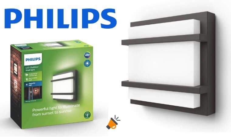 oferta Aplique Philips Lighting MyGarden Petronia barato SuperChollos
