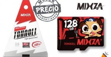 oferta Tarjeta microSD MIXZA TOHAOLL de 128 GB barata SuperChollos