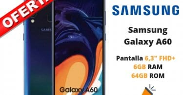 OFERTA Samsung Galaxy A60 BARATO SuperChollos