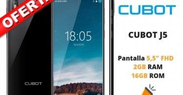 oferta CUBOT J5 barato SuperChollos