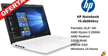 oferta hp notebook 15 barato SuperChollos