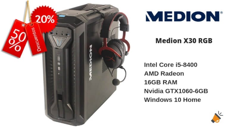 oferta Medion X30 RGB barato1 SuperChollos