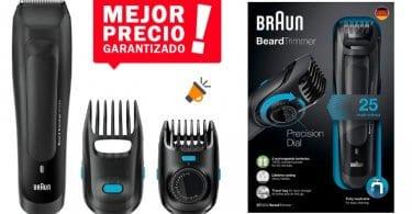 oferta Recortador de barba hombre Braun BT5050 barata SuperChollos