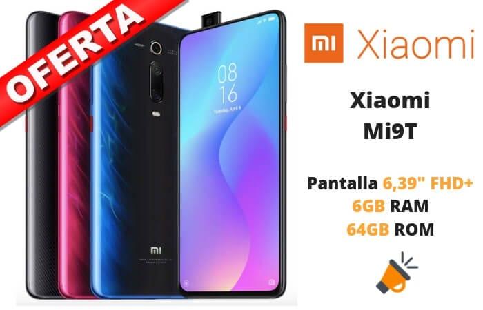 oferta Xiaomi Mi9T barato SuperChollos