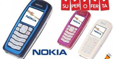 oferta Tele%CC%81fono mo%CC%81vil Nokia 3100 Mini barato SuperChollos