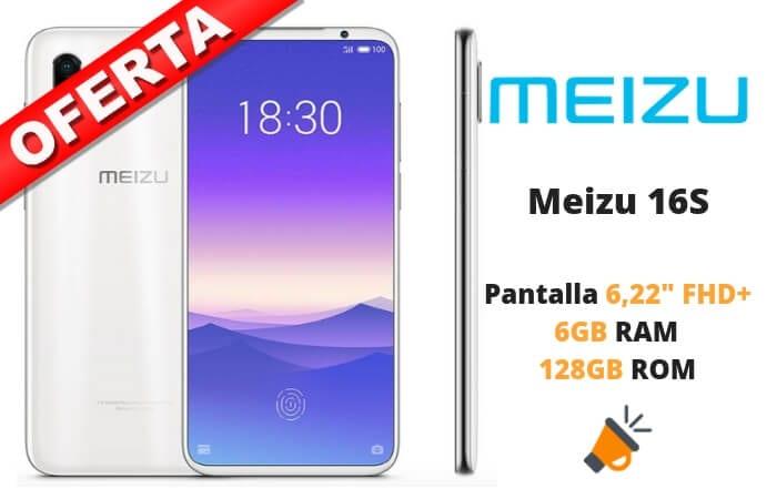 oferta Meizu 16S barato SuperChollos