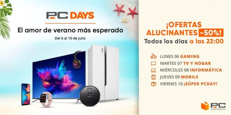 ofertas pc days pccomponentes julio 2020 SuperChollos