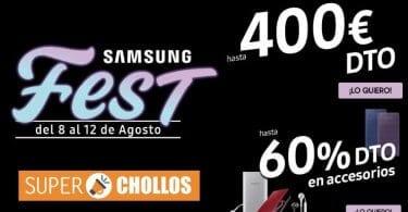 Ofertas Samsung Fest phone house agosto 2019 SuperChollos