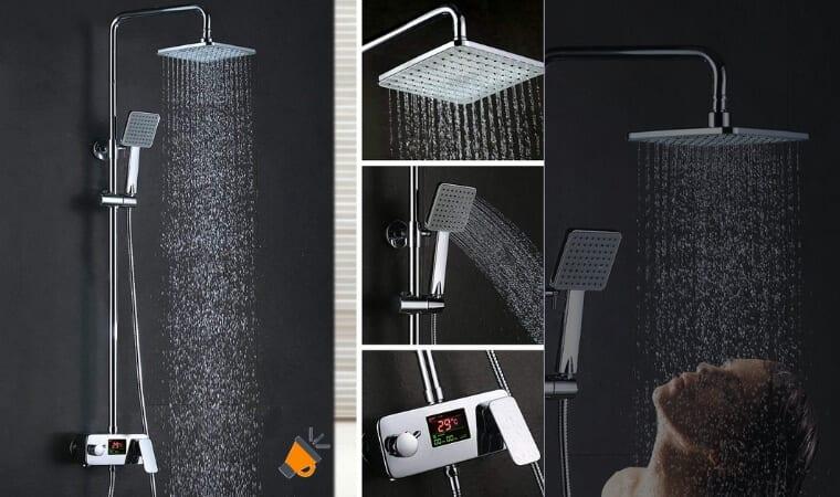 oferta columna de ducha homelody barata SuperChollos